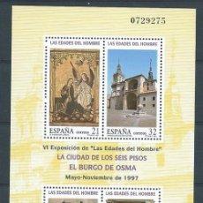 Sellos: ESPAÑA,1997,EDIFIL 3494,EDADES DEL HOMBRE,NUEVO,MNH**. Lote 113981791