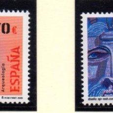 Sellos: ESPAÑA, SELLOS DEL AÑO 2009.- ARQUEOLOGÍA. Lote 102265651