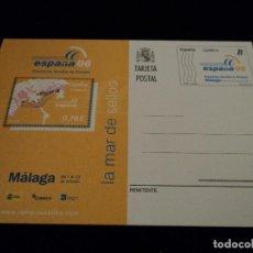 Sellos: ESPAÑA 2 ENTERO POSTAL ( TARJETA ) 173/74 2006 EXPOSICIÓN MÁLAGA. Lote 102523667