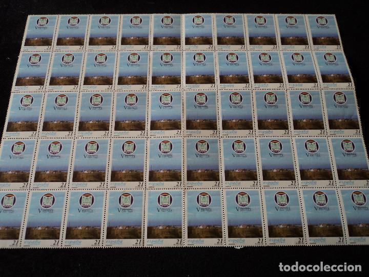PLIEGO DE 50 SELLOS EDIFIL 3505. EFEMÉRIDES. - V CENTENARIO DE MELILLA. (1997). (Sellos - España - Juan Carlos I - Desde 1.975 a 1.985 - Nuevos)