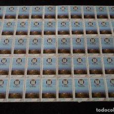 Sellos: PLIEGO DE 50 SELLOS EDIFIL 3505. EFEMÉRIDES. - V CENTENARIO DE MELILLA. (1997).. Lote 103119299