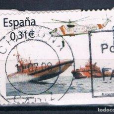 Sellos: ESPAÑA SERIE EDIFIL 4399 USADA FRAGMENTO. Lote 103166775