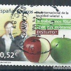 Sellos: R25/ ESPAÑA EDIFIL 4776, USADO, 2013, VALORES CIVICOS. Lote 103180351