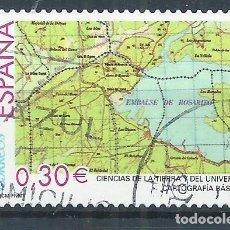 Sellos: R25/ ESPAÑA EDIFIL 4314, USADO, CIENCIAS DE LA TIERRA .... Lote 103180659