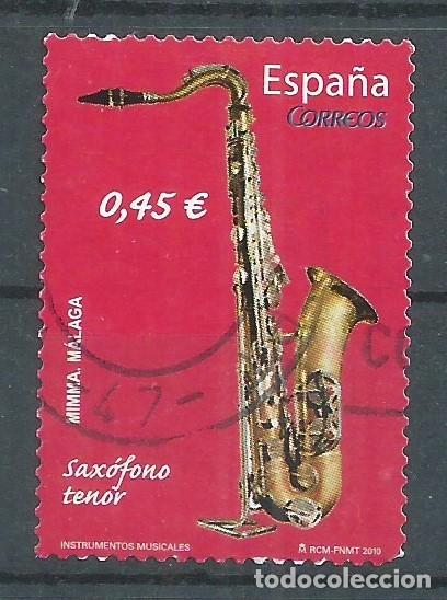 R25/ ESPAÑA EDIFIL 4550, 2010, USADO, INSTRUMENTOS MUSICALES (Sellos - España - Juan Carlos I - Desde 2.000 - Usados)