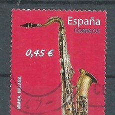 Sellos: R25/ ESPAÑA EDIFIL 4550, 2010, USADO, INSTRUMENTOS MUSICALES. Lote 103180779