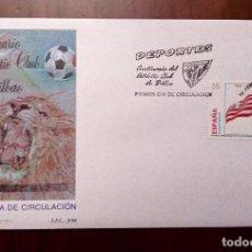 Sellos: ESPAÑA 1998 ATHLETIC DE BILBAO FUTOL CLUB FDC ED 3530 YV 3104 . Lote 103368979