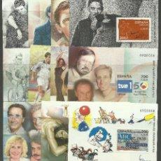 Sellos: JUEGO DE LAS HOJAS EXPOSICION ESPAÑA 2000 SIN DENTAR. Lote 103496523