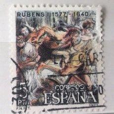 Sellos: ESPAÑA 1977, 1 SELLO USADO . Lote 103523363
