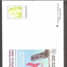 Sellos: SOBRES FERIA Y EXPO FILATELICA 2001.. Lote 103720615
