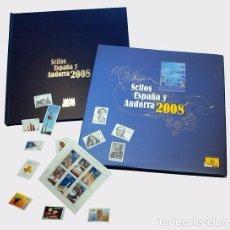 Sellos: SPAIN 2008 - 2008 YEAR BOOK SPAIN & ANDORRA - ANNUAL PRODUCT. Lote 103987395