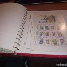 Sellos: COLECCION DE SELLOS DE 1991 AL 1998 CON ALBUM Y MONTADOS EN HOJAS EDIFIL.. Lote 104742595