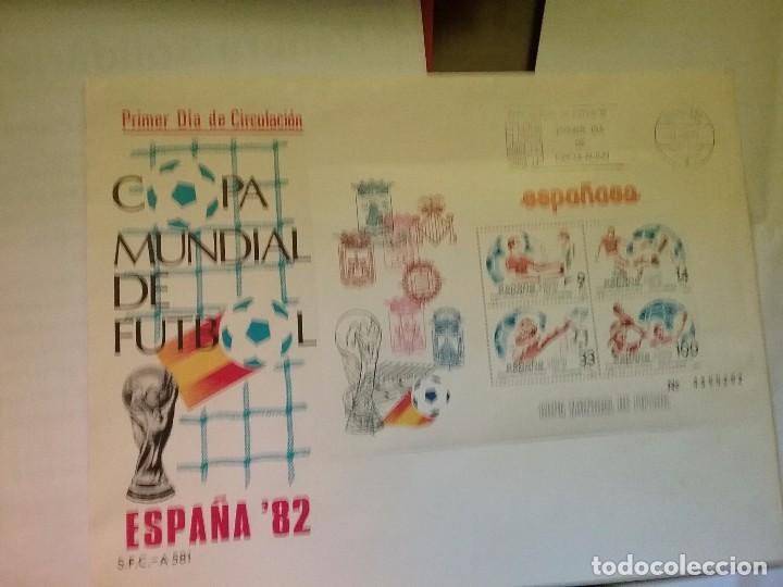 CARTA/SOBRE PRIMER DIA DE CIRCULACION ESPAÑA 82 (Sellos - España - Juan Carlos I - Desde 2.000 - Cartas)