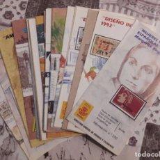 Sellos: AÑO 1992 FOLLETO DE EMISION DE SELLOS Nº 1 . Lote 105652451