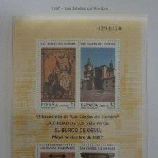 Sellos: ESPAÑA 1997 LAS EDADES DEL HOMBRE. Lote 105820107