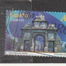 Francobolli: ESPAÑA 2013 - EDIFIL NRO. 4766 - ARCOS Y PUERTAS - USADO - FOTO STANDARD. Lote 113583079