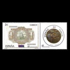Sellos: ESPAÑA 2014. EDIFIL 4919/20 4920. NUMISMÁTICA LA PESETA. NUEVO** MNH. Lote 47484132