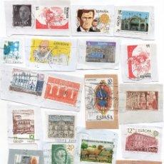 Sellos: LOTE DE MAS DE 20 SELLOS DE ESPAÑA.. Lote 107273083