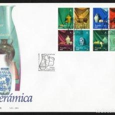 España 2004 Edifil 4102/09 SOBRE - PD. Cerámica