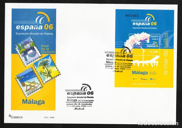 ESPAÑA 2005 EDIFIL 4241 SOBRE - PD. EXPOSICIÓN MUNDIAL DE FILATELIA ESPAÑA 2006 EXISTENCIAS - 2 (Sellos - España - Juan Carlos I - Desde 2.000 - Cartas)