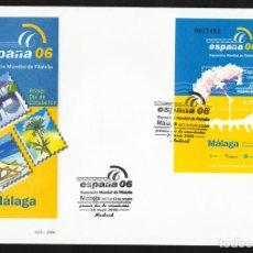 Sellos: ESPAÑA 2005 EDIFIL 4241 SOBRE - PD. EXPOSICIÓN MUNDIAL DE FILATELIA ESPAÑA 2006 EXISTENCIAS - 2. Lote 107428146