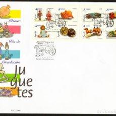 Sellos: ESPAÑA 2006 EDIFIL 4199/4206 SOBRE - PD. JUGUETES. Lote 107428166