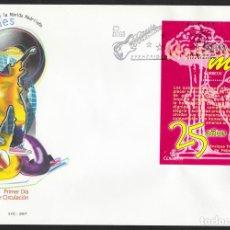 Sellos: ESPAÑA 2007 EDIFIL 4320 SOBRE - PD. 25º ANIVERSARIO DE LA MOVIDA MADRILEÑA EXISTENCIAS - 2. Lote 107428182