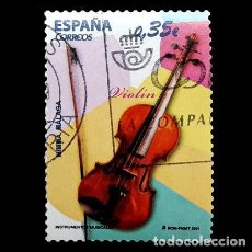 Sellos: ESPAÑA 2011. EDIFIL 4629. INSTRUMENTOS MUSICALES. USADO. Lote 107895971