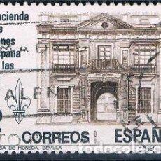 Sellos: ESPAÑA 1981 LA HACIENDA DE LOS BORBONES EN ESPAÑA E INDIAS SERIE EDIFIL 2642 USADO. Lote 108006647