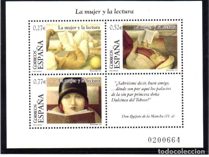 ESPAÑA, HOJA BLOQUE DEL AÑO 2004.- SERIE COMPLETA EN NUEVO (Sellos - España - Juan Carlos I - Desde 2.000 - Nuevos)