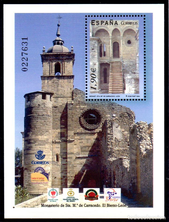 ESPAÑA. HOJA BLOQUE DEL AÑO 2004.- SERIE COMPLETA EN NUEVOS (Sellos - España - Juan Carlos I - Desde 2.000 - Nuevos)