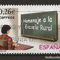 Sellos: R26/ ESPAÑA USADOS 2003, EDIFIL 3978, HOMENAJE ESCUELA RURAL. Lote 108716863
