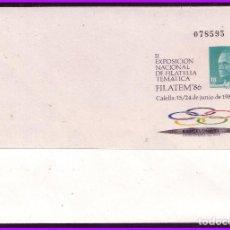 Sellos: 1986 II EXPOSICIÓN NACIONAL DE FILATELIA TEMÁTICA, CALELLA 15 A 24 DE JUNIO DE 1986 (*). Lote 108791375