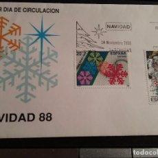 Sellos: LOTE 1SOBRES PRIMER DIA DE CIRCULACION 1988. Lote 108838807
