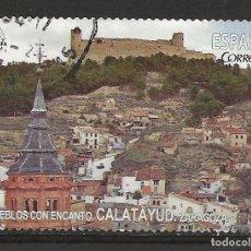 Sellos: R26/ ESPAÑA USADOS, PUEBLOS CON ENCANTO, CALATAYUD, ZARAGOZA. Lote 108972067