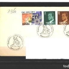 Sellos: ESPAÑA 1981 - SOBRE CONMEMORATIVO EXPO. FILATELICA 1981 - BARACALDO - USADO. Lote 109047987