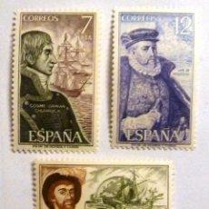 Sellos: SELLOS ESPAÑA 1976. EDIFIL 2308/10. NUEVOS. PERSONAJES ESPAÑOLES. BARCOS.. Lote 109105959