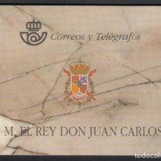 Sellos: ESPAÑA , 1998 EDIFIL Nº 3544C CARNET REY JUAN CARLOS Y PRUEBAS 64A/64D. Lote 109200103