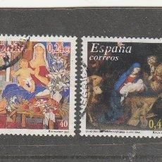 Sellos: ESPAÑA 2001 - EDIFIL NRO. 3835-36 - USADOS. Lote 109314200
