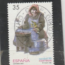 Sellos: ESPAÑA 1998 - EDIFIL NROS. 3596 - NAVIDAD - USADO. Lote 110206438