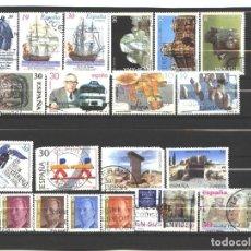 Sellos: ESPAÑA 1995 - LOTE DE 20 SELLOS DIFERENTES- USADOS Ñ- ALGUNOS DEFECTOS. Lote 110239723