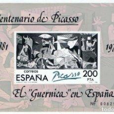 Sellos: EL GUERNICA EN ESPAÑA. EDIFIL Nº 2631.. Lote 110251947