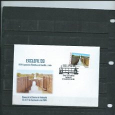 Sellos: SOBRE CON MATASELLO ESPECIAL DE VALLADOLID DEL CANAL DE CASTILLA EL SELLO ES DEL MISMO SITIO 2009 . Lote 110677891
