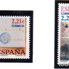 Sellos: ESPAÑA. SELLOS DEL AÑO 2005, SERIE COMPLETA. EN NUEVOS. Lote 110700911