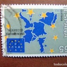 Sellos: ESPAÑA 1994 UNION EUROPEA OCCIDENTAL EDIFIL Nº 3324 º FU YVERT Nº 2915 º FU. Lote 110796843