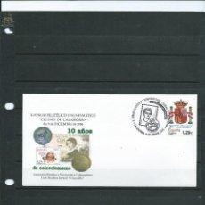 Sellos: SOBRE CON MATASELLO ESPECIAL DE CALAHORRA DE FORUM FILATELICO DE COLECCIONISMO DEL AÑO 2006. Lote 110887755