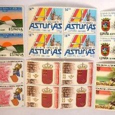 Sellos: SELLOS ESPAÑA 1983. EDIFIL 2686/91. NUEVOS. ESTATUTOS DE AUTONOMIA. BLOQUE DE CUATRO.. Lote 115610910