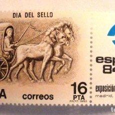 Sellos: SELLOS ESPAÑA 1983. EDIFIL 2719. NUEVO. DIA DEL SELLO.. Lote 111434967