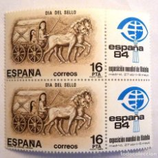 Sellos: SELLOS ESPAÑA 1983. EDIFIL 2719. NUEVOS. DIA DEL SELLO.. Lote 111435059