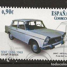 Sellos: R13.G35/ ESPAÑA 2013, COCHES DE EPOCA, MNH **. Lote 111972847